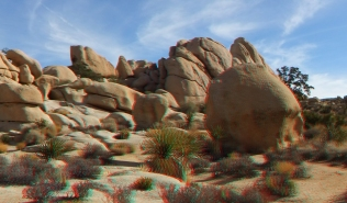 Hidden Valley Joshua Tree NP 3D Anaglyph DSCF7703