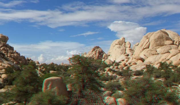 Wonderland Valley Joshua Tree NP 3D Anaglyph DSCF5207
