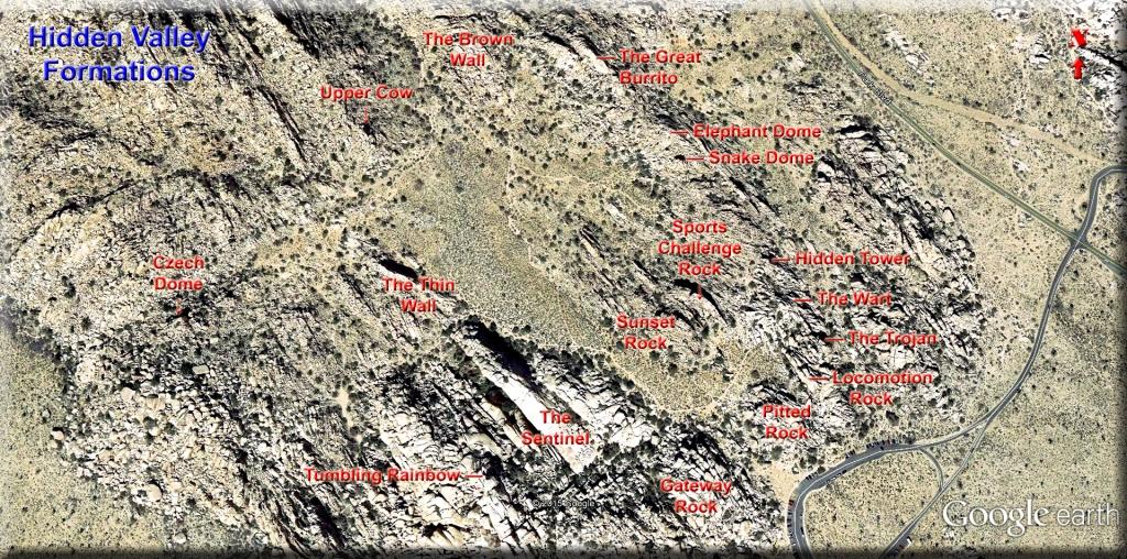 Hidden Valley Formations