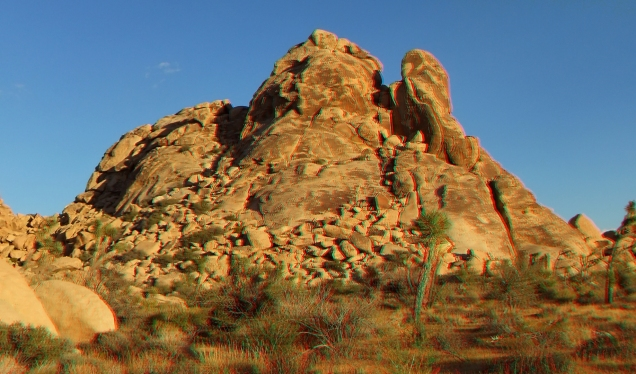 Parking Lot Rocks Joshua Tree 3DA 1080p DSCF2270