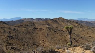 San Jacinto Mountain (left) and Mt. San Gorgonio (right)