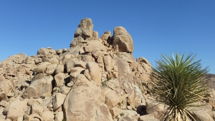 The Diamond (L) and Centurion Rock