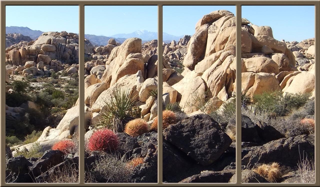 Front row seat at Wonderland of Rocks