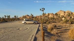Lost Horse Road Parking Lot DSCF7652