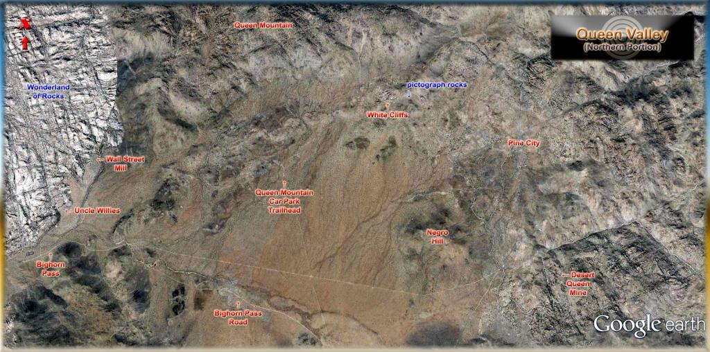 Queen Valley 01i Google Earth
