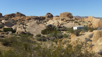 Jumbo Rocks Campground Joshua Tree NP DSCF3402