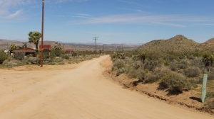 La Contenta Road at Covington Flats turnoff