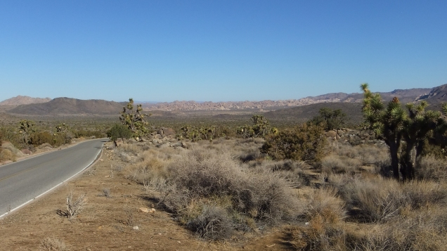 View north into Lost Horse Valley, with the Wonderland of Rocks approx. 6 miles away.