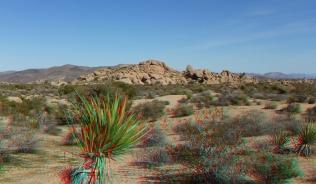 Zebra Cliffs Joshua Tree NP 1080p 3DA DSCF5643