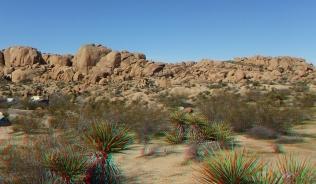 Zebra Cliffs Joshua Tree NP 1080p 3DA DSCF5645