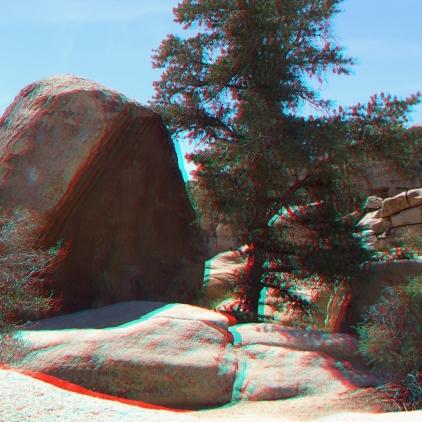 Tidal Wave Boulder Joshua Tree NP 1080p 3DA DSCF5491