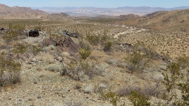 Pinto Wye Mine Site Joshua Tree NP DSCF7300