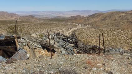 Pinto Wye Mine Site Joshua Tree NP DSCF7303