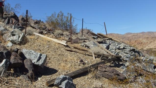 Pinto Wye Mine Site Joshua Tree NP DSCF7306